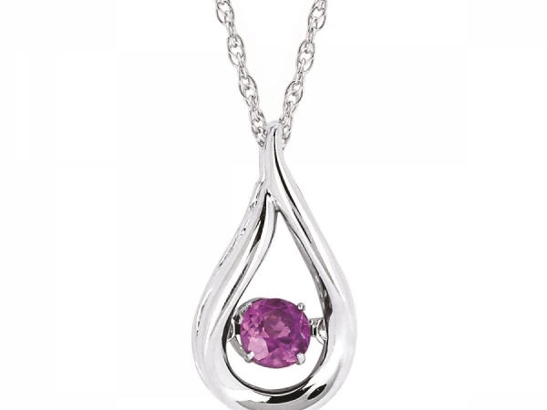Pendants & Necklaces - Created Alexandrite Shimmering Pendant